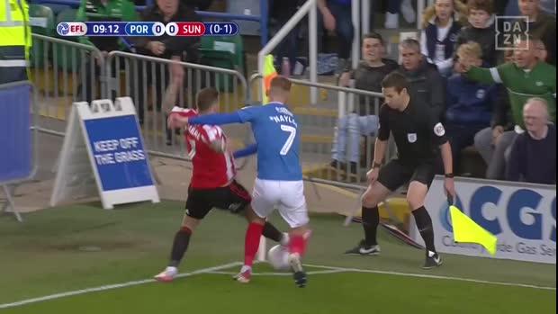 EFL: Ball gegen Kopf! Das ist nur Gelb? Na