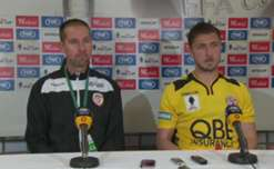 Assistant coach Andrew Ord and Dino Djulbic discuss Glory's progression to the Westfield FFA Cup final.