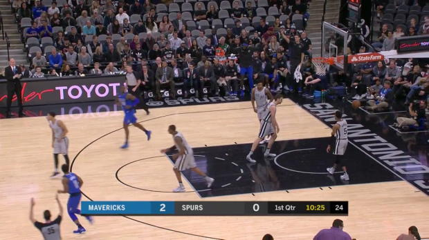WSC: Maxi Kleber (21 points) Highlights vs. San Antonio Spurs