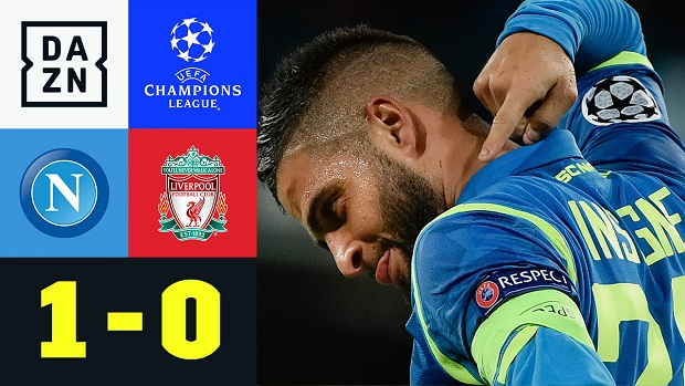 UEFA Champions League: Neapel - Liverpool | DAZN Highlights