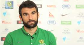 Socceroos captain Mile Jedinak says the squad's débutantes have settled right in to camp.