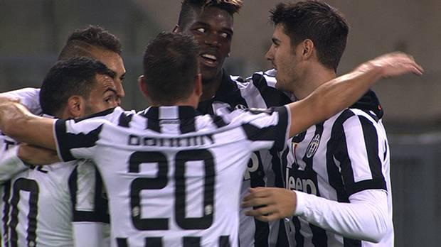 Lazio 0-3 Juventus, Giornata 12 Serie A TIM 2014/15