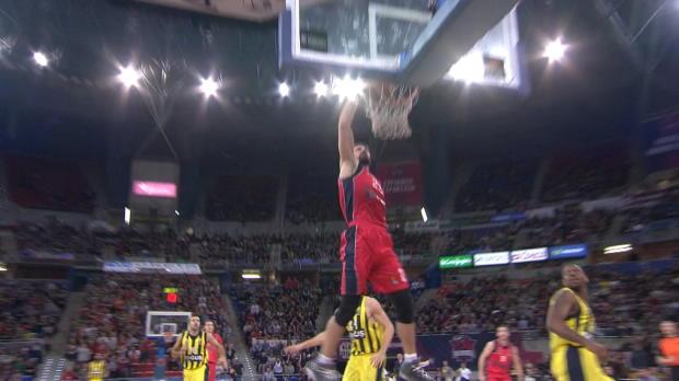 Basket : Euroligue - Les meilleures actions de la 10e j.