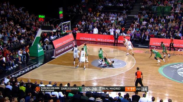 Los 3 mejores minutos del Darrussafaka 81-88 Real Madrid
