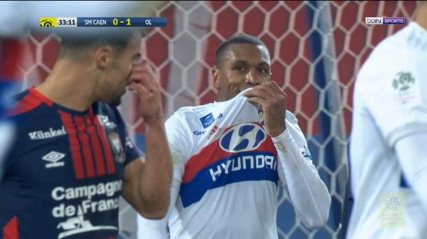 Sieg gegen Caen: Lyon macht Punkte auf PSG gut