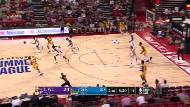 GAME RECAP: Lakers 88, Warriors 87
