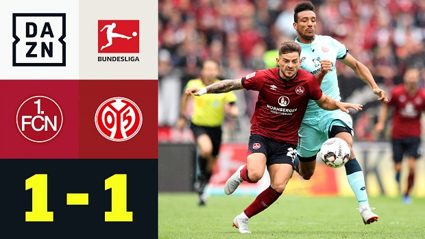 Bundesliga: 1. FC Nürnberg - 1. FSV Mainz 05 | DAZN Highlights