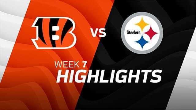Cincinnati Bengals vs. Pittsburgh Steelers highlights | Week 7