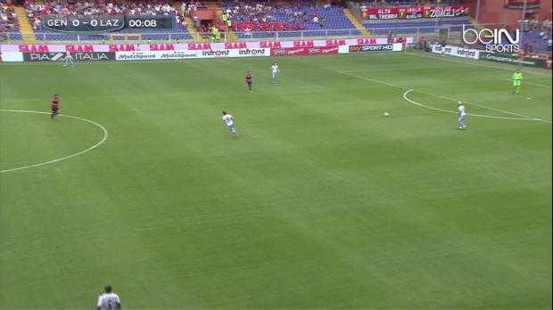 Serie A : Genoa 1-0 Lazio