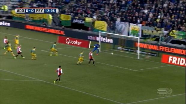 كرة قدم: الدوري الهولندي: دين هاغ 0-1 فينورد
