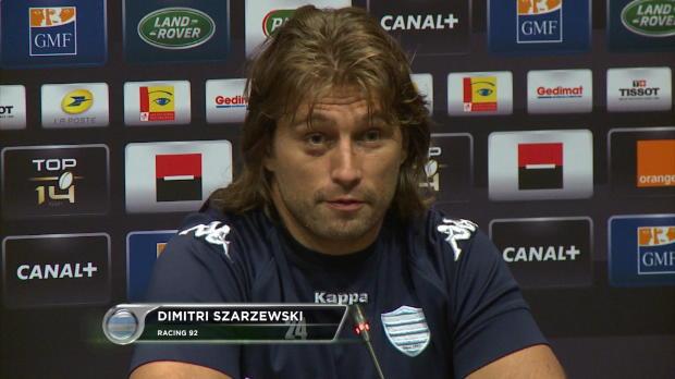 Top 14 - Finale : Szarzewski : 'Ne pas passer � c�t�'