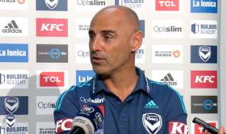 Melbourne Victory head coach Kevin Muscat is focused only on his side as the race for the Hyundai A-League Premiership heats up.
