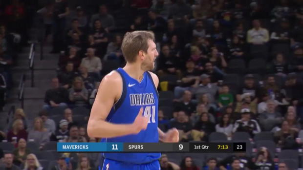 WSC: Dirk Nowitzki (19 points) Highlights vs. San Antonio Spurs