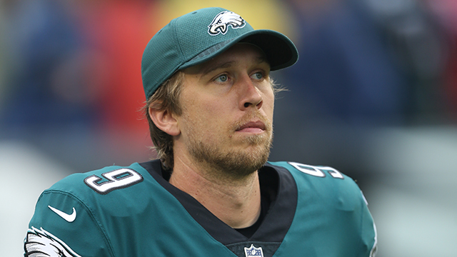 Why did the Philadelphia Eagles give quarterback Nick Foles a new contract?