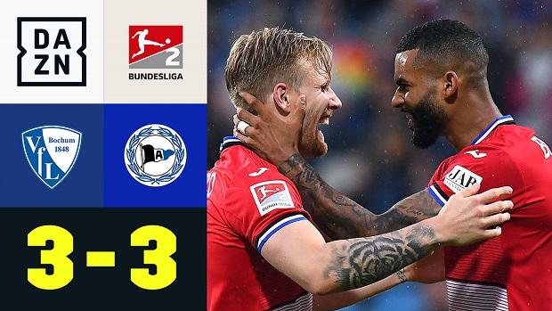 2. Bundesliga: VfL Bochum - Arminia Bielefeld   DAZN Highlights