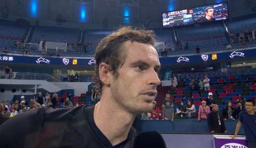 Murray Interview: ATP Shanghai SF