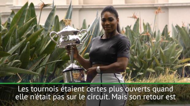 WTA - Halep - 'Le retour de Serena est une excellente nouvelle'