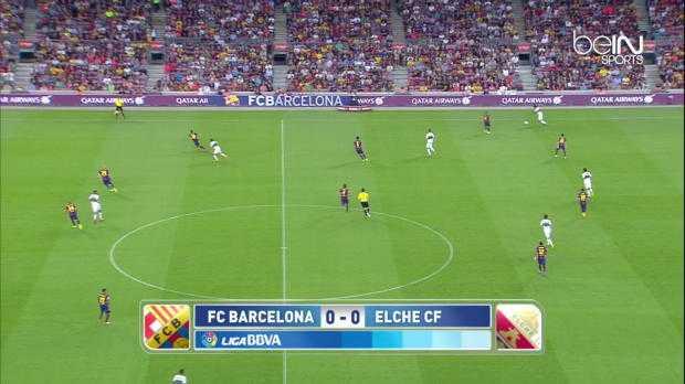 Liga : FC Barcelone 3-0 Elche