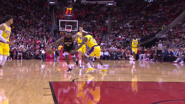 Dunk of the Night : James Harden