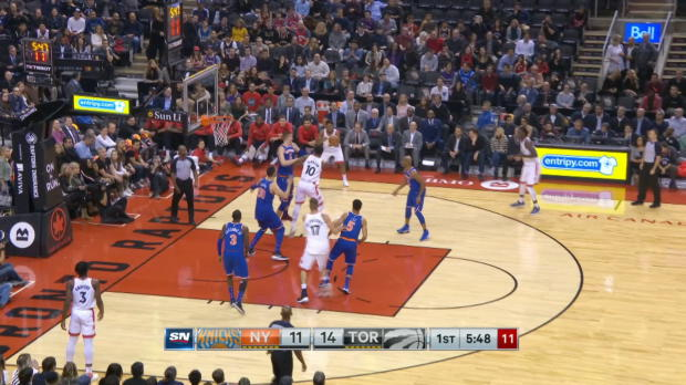 GAME RECAP: Raptors 107, Knicks 84