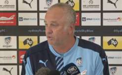 Sydney FC coach Graham Arnold says it was never his side's goal to go through the season undefeated.