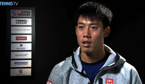 Nishikori Interview: ATP Basel 2R