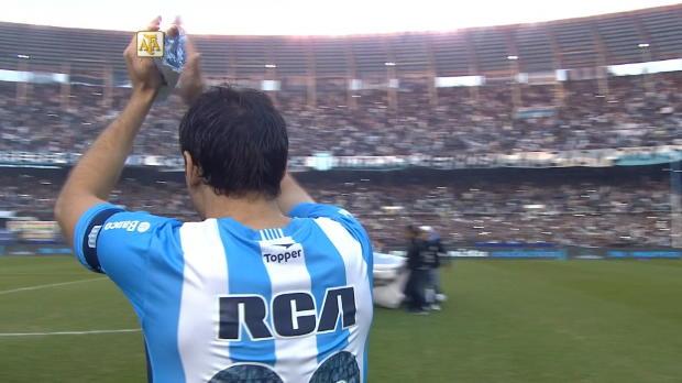 Argentina - Milito cuelga las botas con victoria