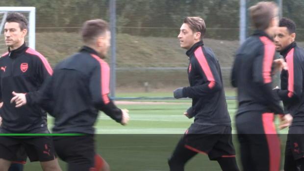 """Emery: Özil? """"Eines der größten Talente hier"""""""