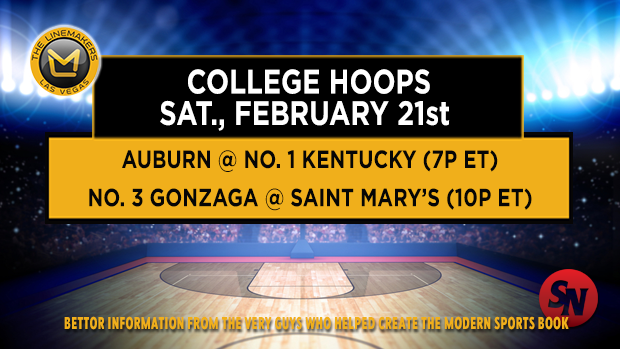 Saturday College Hoops - Evening Tips
