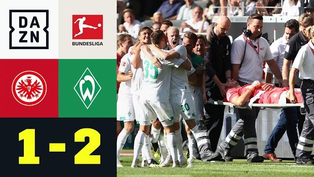 Bundesliga: Eintracht Frankfurt - SV Werder Bremen | DAZN Highlights