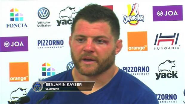 Top 14 - 6e j. : Kayser : 'Rageant de ne pas faire l'exploit'