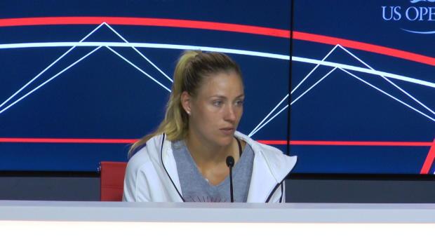 """US Open: Kerber: """"Eines Tages Nummer 1 sein"""""""