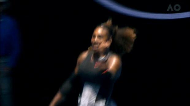 تنس: بطولة استراليا: سيرينا تنجو من اختبار ستريكوفا