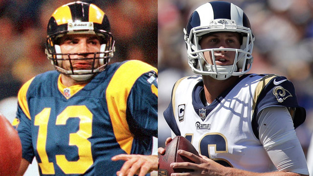 Is the 2018 Los Angeles Rams offense better than the 1999 Rams offense?
