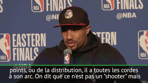 NBA - G.Hill - 'LeBron est tout simplement le meilleur que j'ai jamais vu'