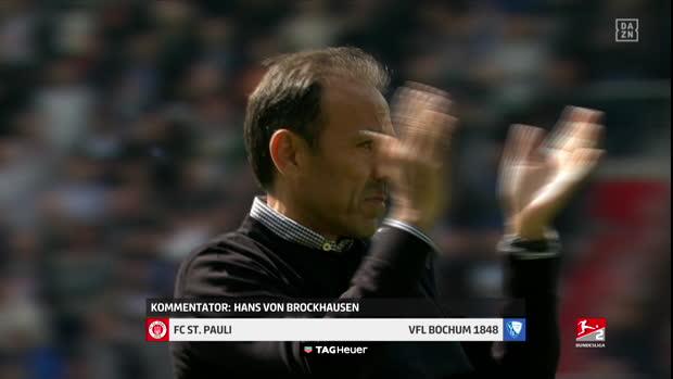 2. Bundesliga: FC St. Pauli - VfL Bochum 1848   DAZN Highlights