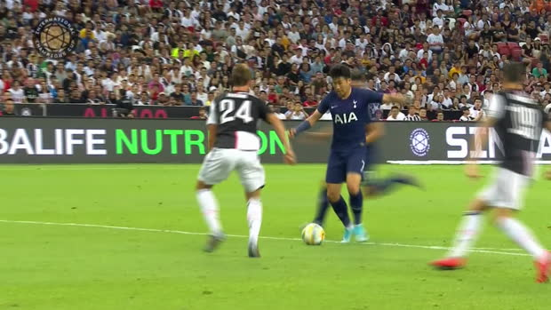 ICC - Tottenham s'offre la Juve sur le fil grâce à un bijou de Kane