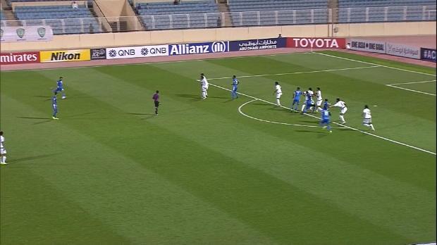 El golazo de falta de Al Zaqan en AFC Champions League