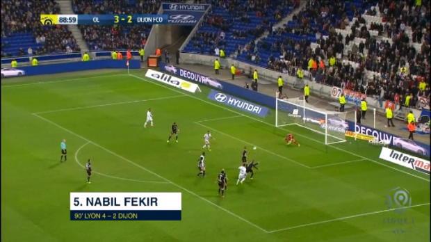 كرة قدم: الدوري الفرنسي: أفضل خمسة أهداف: المرحلة 26