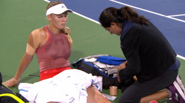 Tennis : Cincinnati - Wozniacki contrainte à l'abandon