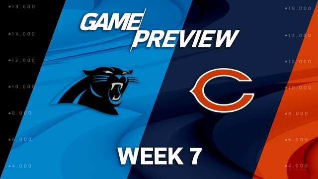 Carolina Panthers vs. Chicago Bears preview | 'NFL Playbook'