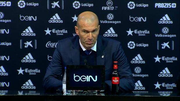 """Zidane: """"Keine Entschuldigung für Niederlage"""""""