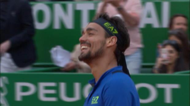 Basket : Monte-Carlo - Fognini écarte Nadal !