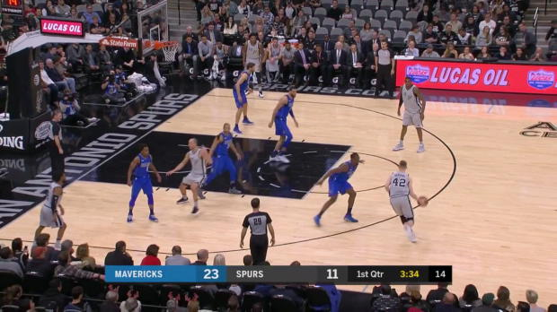 WSC: LaMarcus Aldridge (22 points) Highlights vs. Dallas Mavericks