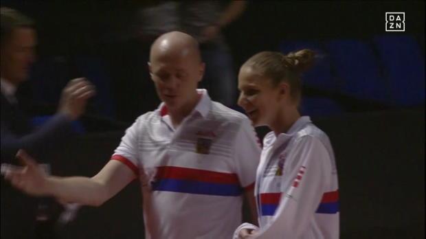 Fed Cup: Kerber - Pliskova