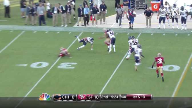 NFL : La fantastique interception de Conte
