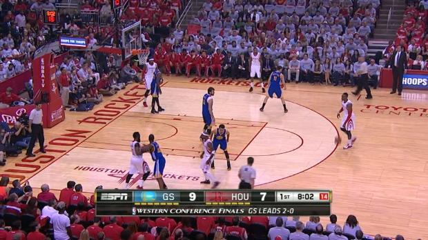 Play-Offs - Un Curry trop fort pour les Rockets