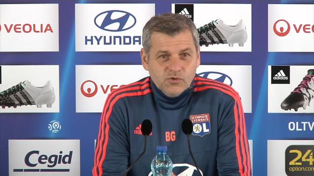 Lyon - Genesio, 'premier supporter' du PSG
