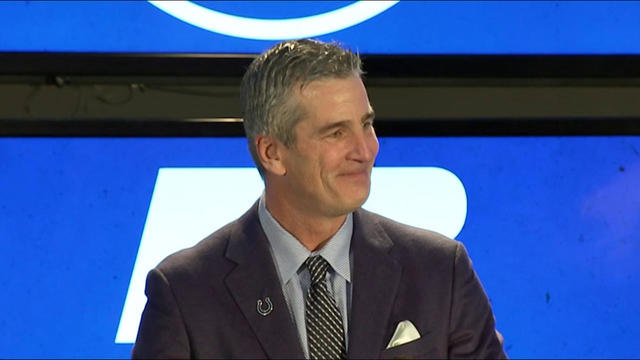 Indianapolis Colts introduce Frank Reich as new head coach