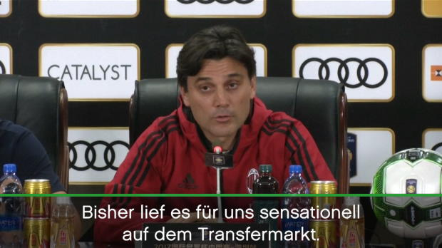 "Mailands Montella: ""Sensationelle Transfers"""